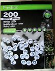 200 LED fairy lights indoor outdoor timer battery Christmas