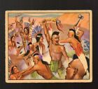 1949 Bowman Wild West Trading Cards 13