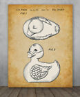 Poster Rubber Duck Patent Choose Unframed Poster or Canvas