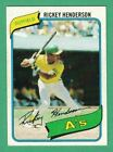Rickey Henderson Cards, Rookie Card and Autographed Memorabilia Guide 11