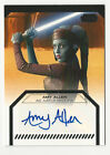 2012 Topps Star Wars Galactic Files Autographs Guide 22