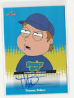 Thomas Dekker 2011 Leaf Family Guy Season 3,4,5 Autograph Card Auto #TD2