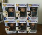 Funko Pop! The Breakfast Club Movie COMPLETE SET WITH PROTECTORS VAULTED NM MNT