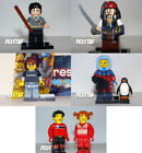 LEGO Minifigures LOT Harry Potter Jack Sparrow Gamer Photographer Creator Advent