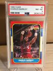 1986-87 Fleer - Rookie - Charles Barkley - PSA 8 NM-MT