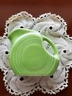1st Quality Fiesta Mini Disk Disc Pitcher Chartreuse  Retired Fiestaware NWT.
