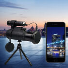 Infrared IR HD Monocular 12X Night Vision Telescope with Tripod Kit Portable