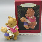 Hallmark 1996 GRANDMA BEAR Christmas Ornament COMMEMORATIVE LaDene Vortruba (HN)