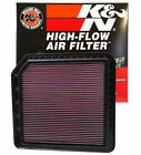 K&N 33-2456 Drop In Air Filter 2011-2019 Fits Infiniti QX56 QX80 Armada 5.6L V8