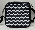 Thirty One Perfect Potluck Set Square Party Thermal Only New Black Chevron