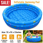 Summer Inflatable Kids Swimming Pool Swim Center Water Fun Play 130 x 33cm New