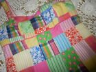euc Lilly Pulitzer patchwork sun dress ladies 6  free ship USA