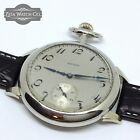 1927 SILVER Art Deco ELGIN 16s Pocket watch Conversion Wristwatch Runs Good