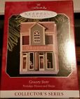 HALLMARK 1998 NOSTALGIC HOUSES AND SHOPS #15--GROCERY STORE