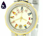 Corum Admiral's Cup 39.610.21V52B Women's Quartz SS / GP from Japan [a0420]