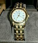 Excellent Quality Gucci Ladies 18k Gold Plated Wrist Watch 5400L New Battery Box