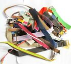 DEAL LOT - 30 NOS VINTAGE NYLON - TRENCH MEN'S WRIST WATCH BANDS (B3)
