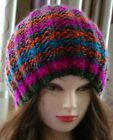 Hand Knitted Beanie Women's hand made hat warm for winter