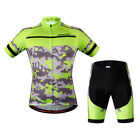 Mens Sports Cycling Jersey Full Zip Road Bike Bicycle T Shirts