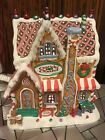 2014 Rare LEMAX Light Up CANDY CHALET Christmas Village GINGERBREAD HOUSE