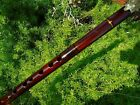 NATIVE AMERICAN STYLE FLUTE MAHOGANY WOOD 6 HOLES TUNED G 440 HZ Reg 225 NEW
