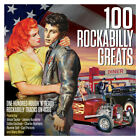 100 ROCKABILLY GREATS (Various Artists) One Hundred Rough 'N' Ready - BRAND NEW