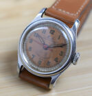 Vintage MIDO MULTIFORT RM Automatic Bumper Stainless Steel Military Style Watch