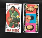 1969-70 Topps # 75 - Elvin Hayes RC AND 1970-71 Rebound Leaders w Lew Alcindor