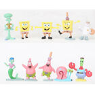 SpongeBob SquarePants Patrick Star 10 PCS Action Figure Cake Topper Kid Gift Toy