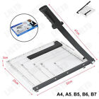 Heavy Duty Guillotine Photo Paper Cutter Precision Trimmer Metal Base A4 To B7