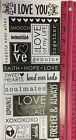 Wedding Love Special Occasion Words And Phrases Scrapbook Stickers