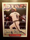 WILLIE STARGELL 1993 NABISCO ALL-STAR SP AUTO WITH COA PITTSBURGH PIRATES HOF