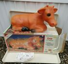 Vintage Empire Christmas Nativity Yard Light Lamp 22 cow Blow Mold in box