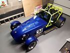 caterham superlight R with Brian James trailer