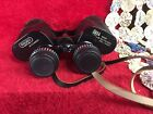 Vintage Binoculars with Leather Case  Informational Pamphlet Eschenbach Optik