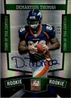 Demaryius Thomas Rookie Card Guide 13