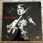 Autographed  JOAN BAEZ Self-Titled LP Vinyl Signed (Opened) Beckett Authentic