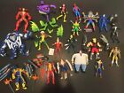 VINTAGE MARVEL UNCANNY X MEN SPIDERMAN X FORCE ORIGINAL ACTION FIGURES 1990S