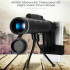 40x60 HD Zoom Optical Monocular Telescope Phone Lens Observing Survey Camping