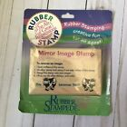 Mirror Image Stamp 247 F By Rubber Stampede Brand New In Packaging