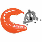 Acerbis X-Brake Front Disc Cover with Mounting Kit Orange for KTM Off-Road