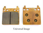 EMGO Rear Grooved Brake Pads for Derbi On-Off Road Motorcycles