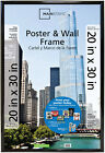 Mainstays 20 X 30 Trendsetter Poster Photo Picture Document Frame Home Decor