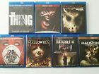 Lot of 7 Horror blu ray Movies Halloween Prom Night Haunting in Connecticut