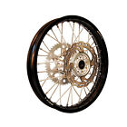 Warp 9 Complete Wheel Kit - Rear 19 x 2.15 Black Rim/Silver Hub/Silver Spokes