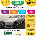2016 SILVER AUDI A7 SPORTBACK 30 TDI QUATTRO BLACK EDT CAR FINANCE FR 117 PW