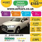 2015 WHITE AUDI Q7 30 TDI 272 QUATTRO S LINE DIESEL AUTO CAR FINANCE FR 155 PW