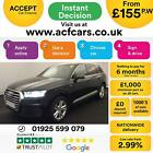 2015 BLACK AUDI Q7 30 TDI 272 QUATTRO S LINE DIESEL AUTO CAR FINANCE FR 155 PW