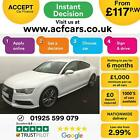 2017 WHITE AUDI A7 SPORTBACK 30 TDI QUATTRO BLACK EDITION CAR FINANCE FR 117PW