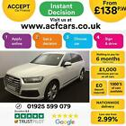 2016 WHITE AUDI Q7 30 TDI 218 QUATTRO S LINE DIESEL AUTO CAR FINANCE FR 138 PW